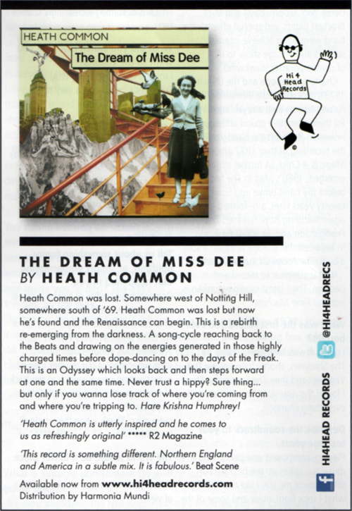 The Dream of Miss Dee by Heath Common